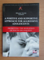 Mihaela Tomita - A positive and supportive approach for aggressive adolescents. Promoting the resilience of youth delinquent