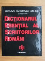 Anticariat: Mircea Zaciu - Dictionar esential al scriitorilor romani