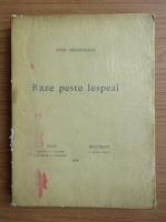 Anticariat: Ovid Densusianu - Raze peste lespezi (1924)