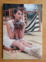 Anticariat: Revista Teatrul Azi, nr. 1-2, 2007