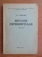 Stefan Mirica - Ecuatii diferentiale