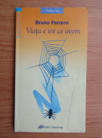 Anticariat: Bruno Ferrero - Viata e tot ce avem