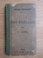 Anticariat: Ch. Aubertin - Art poetique (1930)
