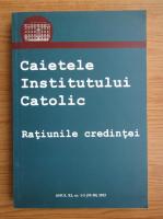 Anticariat: Caitele institutului catolic, anul XI, nr. 1-2 (19-20), 2012