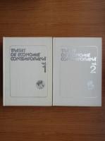 I. V. Totu - Tratat de economie contemporana (2 volume)