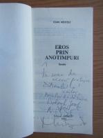 Anticariat: Ioan Meitoiu - Eros prin anotimpuri (cu autograful autorului)