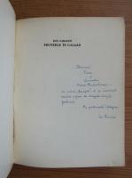Ion Caraion - Frunzele in Galaad (cu autograful autorului)