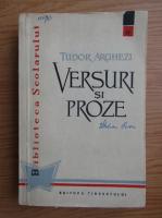 Anticariat: Tudor Arghezi - Versuri si proze