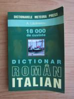 Adriana Lazarescu - Dictionar roman-italian