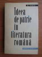 Anticariat: Al. Hanta - Ideea de patrie in literatura romana