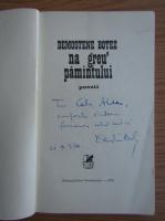 Anticariat: Demostene Botez - Na greu pamantului (cu autograful autorului)