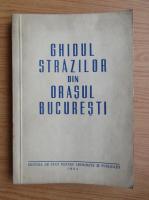 Ghidul strazilor din orasul Bucuresti (1954)
