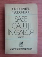 Anticariat: Ion Dumitru Teodorescu - Sase caluti in galop