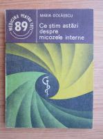 Anticariat: Maria Golaescu - Ce stim astazi despre micozele interne