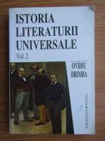 Ovidiu Drimba - Istoria literaturii universale (volumul 2)