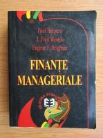 Anticariat: Paul Halpern - Finante manageriale