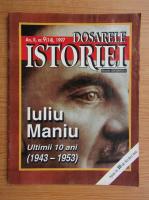 Revista Dosarele Istoriei, anul II, nr. 9 (14), 1997
