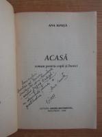 Anticariat: Ana Ionita - Acasa (cu autograful si dedicatia autoarei pentru Balogh Jozsef)