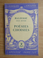 Anticariat: Michel Malherbe - Poesies choisies (1934)