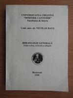 Anticariat: Nicolae Raus - Bibliologie generala