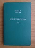 Anticariat: Rudolf Steiner - Stiinta spirituala (volumul 13)
