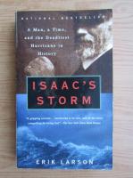 Anticariat: Erik Larson - Isaac's storm