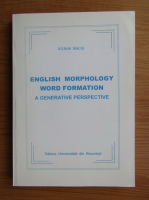 Ileana Baciu - English morphology word formation