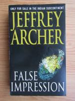 Anticariat: Jeffrey Archer - False impression