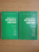 Lecture series in differential equations (2 volume)