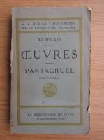 Rabelais - Pantagruel (volumul 2, 1930)