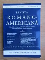 Anticariat: Revista Romano-Americana, nr. XXVIII, aprilie 2017