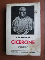 Anticariat: A. de Lamartine - Cicerone (1941)