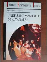 Antoaneta Tanasescu - Unde sunt manierele de altadata?