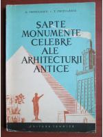 Anticariat: G. Ghitulescu - Sapte monumente celebre ale arhitecturii antice
