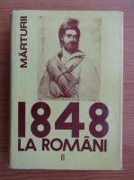 Anticariat: Cornelia Bodea - Marturii 1848 la romani (volumul 2)
