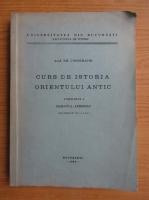Anticariat: Emil Condurachi - Curs de istoria Orientului Antic