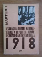 Anticariat: Ion Ardeleanu - Desavarsirea unitatii national-statale a poporului roman. Recunoasterea ei internationala (volumul 4)