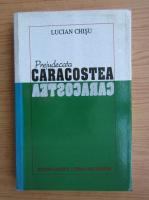 Anticariat: Lucian Chisu - Prejudecata Caracostea
