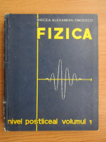 Anticariat: Mircea Alexandru Oncescu - Fizica, volumul 1. Nivel postliceal