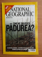 Revista National Geographic, octombrie 2005