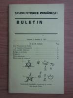 Anticariat: Studii istorice romanesti. Buletin, volumul 3, nr. 3, 1997