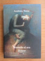 Anticariat: Andreea Nanu - Numele ei era Uitare