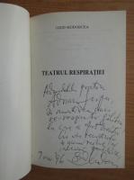 Anticariat: Grid Modorcea - Teatrul respiratiei (cu autograful autorului)