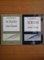 Anticariat: Ion Stavarus - Scrieri, istorie literara (2 volume)