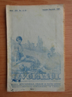Revista Izvorasul, anul XVI, nr. 11-12, noiembrie-decembrie 1937