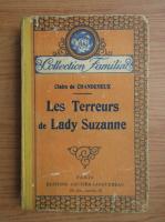 Claire de Chandeneux - Les terreurs de Lady Suzanne