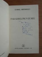 Anticariat: Cornel Nistorescu - Paradisul provizoriu (cu autograful autorului)