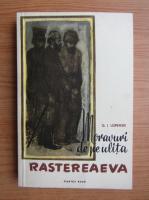 Anticariat: G. I. Uspenski - Moravuri de ulita Rastereaeva