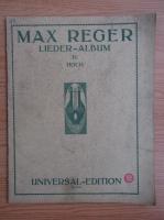 Anticariat: Max Reger - Lieder-album. Hoch IV