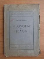 Ovidiu Drimba - Filosofia lui Blaga (1944)